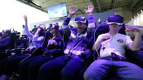 Virtuelle Realität braucht Platz: Technikbranche arbeitet an leistungsstärkerem Netz