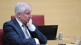 CSU-Chef und Ministerpräsident Horst Seehofer