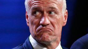 Frankreichs Ex-Nationalspieler und heutiger Coach hätte vermutlich besser zweimal hingeschaut.
