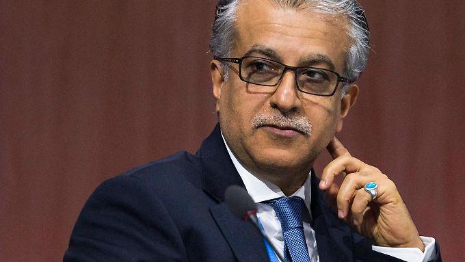 Scheich Salman bin Ibrahim al Chalifa gilt als aussichtsreicher Anwärter auf das Amt des Fifa-Präsidenten.