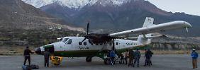 Tara Air bedient sein Streckennetz mit mehreren der kleinen Viking Twin Otters: Auf diesem Bild ist allerdings eine andere Maschine der Fluggesellschaft zu sehen.