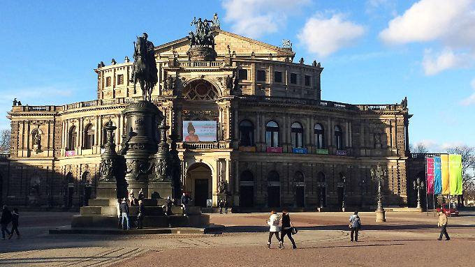 2015 haben weniger Deutsche Dresden besucht.