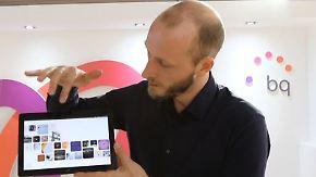 Weltweite Premiere beim MWC: BQ präsentiert Tablet mit Betriebssystem von Ubuntu