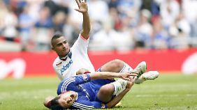 Der Moment, in dem Boateng Ballack die WM 2010 vermasselte: Pokalfinale zwischen Chelsea und Portsmouth.