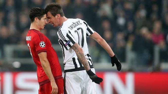 Mit dem FC Bayern hat Mario Mandzukic noch ein Hühnchen zu rupfen.