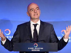 Wird er Blatters Nachfolger: Gianni Infantino.