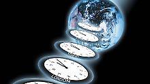 Zeit: eine beruhigend feste Größe? Von wegen.