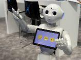 """""""Pepper"""" soll arbeiten: Intelligente Roboter kommen nach Europa"""
