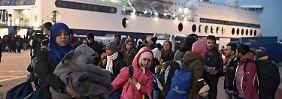 """Flüchtlingskrise in der EU: Gabriel: """"Plan B ist scheiße"""""""