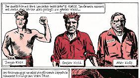 Filmhelden wie Burt Lancaster gebe es heute nicht mehr, findet Blutch.