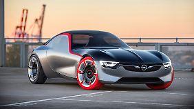 Opel zeigt in Genf die Studie seines Pulsbeschleunigers GT.