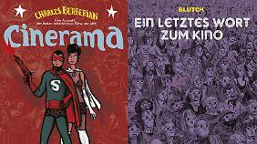 """""""Cinerama"""": 56 Seiten, Klappenbroschur, 14 Euro. """"Ein letztes Wort zum Kino"""": 88 Seiten, Hardcover, 24 Euro."""