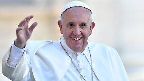 """Papst zu Ehe und Sexualität: """"Gott liebt das frohe Genießen des Menschen"""""""