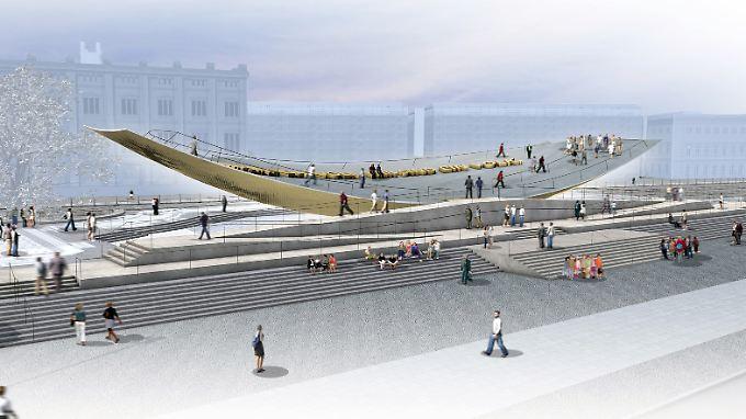 Eigentlich sollte das Denkmal 2013 fertigwerden.