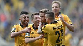 Dynamo Dresden scheint auf dem Weg in die Zweite Liga kaum noch zu stoppen.