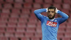 Wurde bedroht und ausgeraubt: Lorenzo Insigne, Star des SSC Neapel.