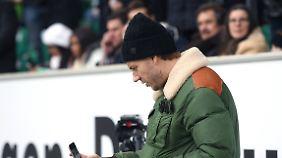 Auf dem Spielfeld ist Nicklas Bendtner in Wolfsburg längst nicht mehr unterwegs.