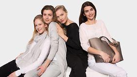 Junge Models, schlichte Farben: So wird die Jette-Joop-Kollektion für Aldi aussehen.