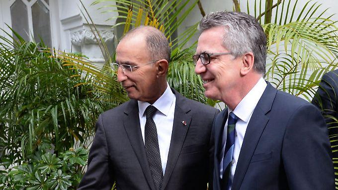 Verhandlungen in Marokko: De Maizière wirbt um Rücknahme von Maghreb-Flüchtlingen