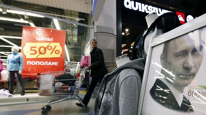 Russlands Mittelschicht kauft zwar gerne westliche Marken, lehnt eine westliche Entwicklung aber mehrheitlich ab.