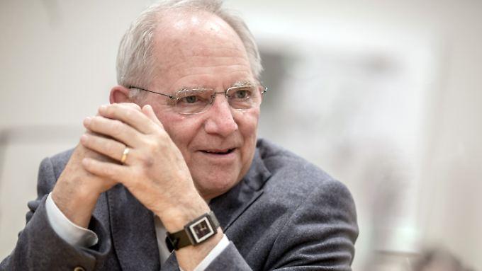 Schäuble will nicht mehr Geld ausgeben.