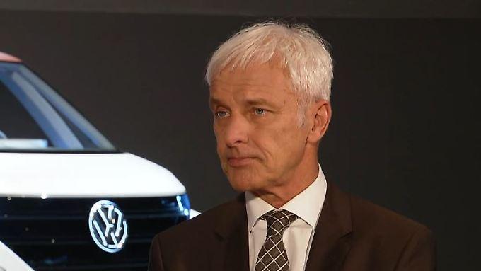"""VW-Chef Müller im Talk mit n-tv: """"Wollen uns durch die Diesel-Thematik nicht lähmen lassen"""""""