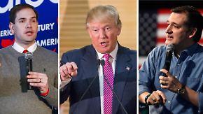"""Clinton setzt auf Südstaaten: Republikaner fürchten Trump-Triumph beim """"Super Tuesday"""""""