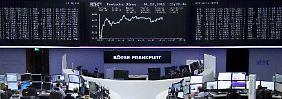 Dax-Anleger zittern die Hände: Erst 100 Punkte runter, dann 100 rauf