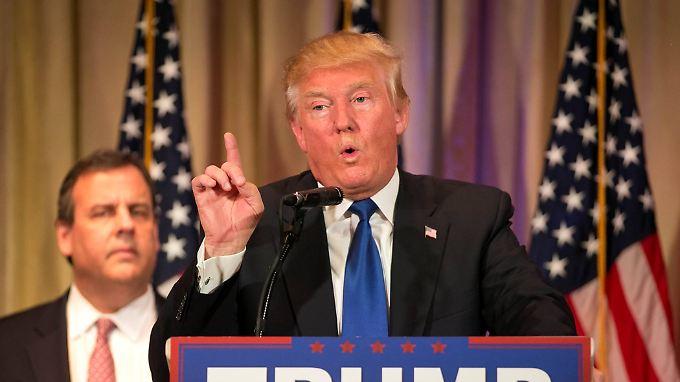 """Wegen der Flüchtlinge aus muslimischen Ländern drohe der Bundesrepublik ein """"radikalislamischer Terrorismus"""", so Trump."""