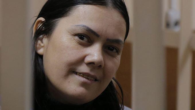 Gyulchehra B. im Gericht.