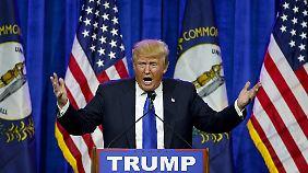 Hetze gegen Migranten: Muslime beobachten Trumps Siegeszug mit Sorge