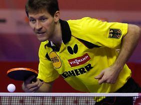 Bastian Steger mühte sich gegen Schweden, punktete auch. Das reichte aber letztlich nicht.