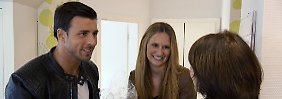 Lernen sich kennen: Leonard, Leonie Rosella und ihre Mutter
