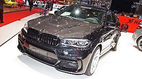 Der BMW X4 von Hamann sucht dei Kollegen von der M GmbH zu überfliegen.
