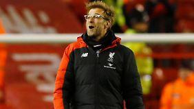 Jürgen Klopp hat nach dem Heimsieg des FC Liverpool gegen Manchester City allen Grund zur Freude.