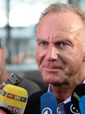 """Karl-Heinz Rummenigge mahnt: """"In Dortmund sollten wir besser nicht verlieren."""""""