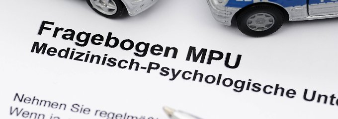 Mehr als 90.000 Menschen mussten sich 2016 einer MPU unterziehen.
