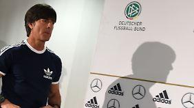 Bundestrainer Joachim Löw will sich mit der Nominierung des EM-Kaders Zeit lassen.