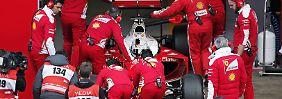 Mercedes dämpft Euphorie: Ferrari kämpft mit den eigenen Ansprüchen