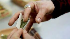Zur Freude der US-Behörden: Legaler Verkauf von Marihuana ist ein Riesengeschäft