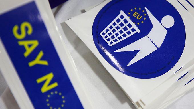 Am 23. Juni stimmen die Briten darüber ab, ob ihr Land die EU verlassen soll.