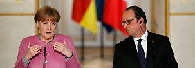 Merkel und Hollande planen EU-Gipfel: Russland soll auf Assad einwirken