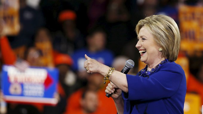 Will US-Präsidentin werden: Hillary Clinton.