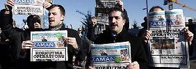 """""""Ende der Pressefreiheit in Türkei"""": Erdogan übernimmt Kontrolle über Zeitung"""