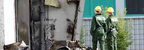Die Turnhalle in Nauen brannte im August 2015 nieder - nun wird gegen Rechtsextreme ermittelt.