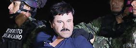 """Zweimal unbemerkt in Kalifornien: """"El Chapo"""" reiste während Flucht in USA ein"""