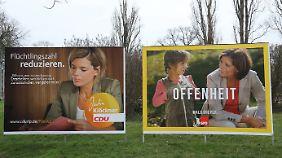 CDU und SPD haben den Wahlkampf im Rheinland-Pfalz besonders stark auf ihre beiden Spitzenkandidaten zugeschnitten.