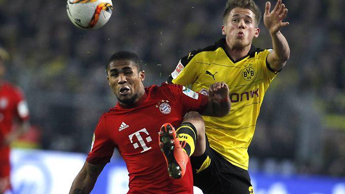 Erik Durm wurde als BVB-Sonderbewacher von Bayern-Star Douglas Costa abgestellt und erfüllte seine Aufgabe souverän.