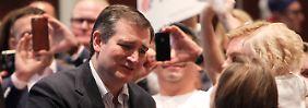 Der erzkonservative Ted Cruz wahrt seine Chance.
