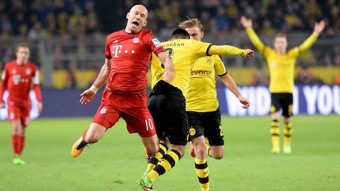 Arjen Robben zeigte keinen Hauch von Verunsicherung.